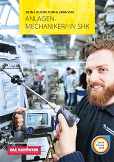 Ausbildung AZUBI SHK-Anlagenmechaniker und SHK-Anagenmechanikerin 2021 Firma Grobelny Glienicke